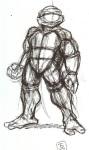 Donatello 2002 Peter Laird croquis 1