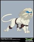 Leonardo as a lion (BTTS) 2k3