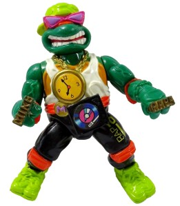 Tortues Ninja TMNT Figurine Rappin' Mike 1991