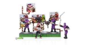 Set Bebop Villain Pack Megabloks 2016 Collector Series Tortues Ninja TMNT