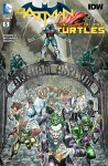Couverture 1 Batman TMNT #5 IDW DC Comics Tortues Ninja Turtles