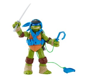 Figurine spyline Leo 2016 Tortues Ninja Turtles TMNT